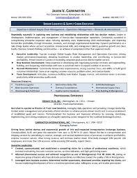 Operations Manager Resume Pdf Logistics Resume Samples Logistics Manager Resume 5 Supply Chain