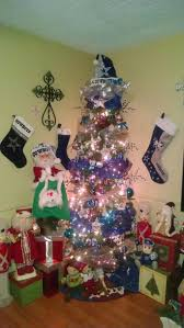 dallas cowboy christmas tree christmas decor pinterest
