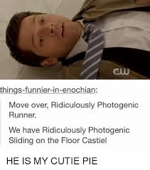 Photogenic Runner Meme - things funnier in enochian move over ridiculously photogenic runner