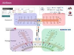 Incheon Airport Floor Plan Seoul Incheon International Airport In Korea