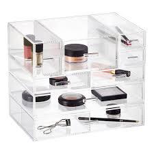 Acrylic Bathroom Storage Luxe Acrylic Modular Makeup Storage Acrylic Organizer Container