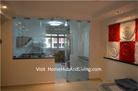 Kitchen Door Designs Kitchen Partitions Protect Smell And Oily Smoke Cooking Enter