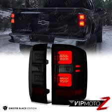 2005 gmc sierra tail lights 2014 2015 chevy silverado sinister black led neon tube smoke tail