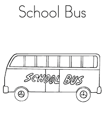 bus coloring page free transportation coloring pages of