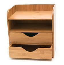 Wood Desk Accessories And Organizers Wooden Desk Organizer With Drawers Best Home Furniture Decoration