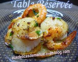 recette de cuisine pomme de terre recette noix de jacques sur lit de pommes de terre