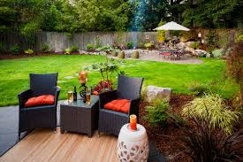 Outdoor Bamboo Rugs Backyard Landscaping Ideas Backyard Patio Landscaping Ideas On A