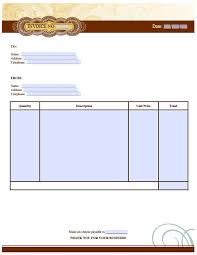 cash invoice sample free artist invoice template excel pdf word doc