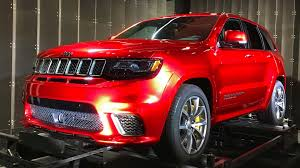 jeep cherokee easter eggs 2018 jeep grand cherokee srt trackhawk first drive review
