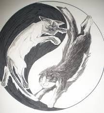 yin yang cats by maziana on deviantart