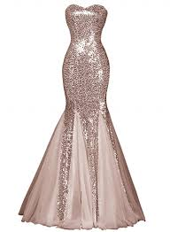 dress pictures glamourous polyester sweetheart sequin mermaid prom dress
