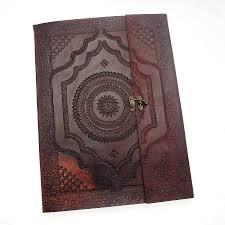 handmade indra x large embossed leather photo album leather