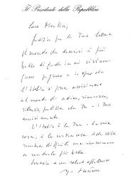 sede presidente della repubblica italiana la risposta presidente della repubblica alla lettera di un