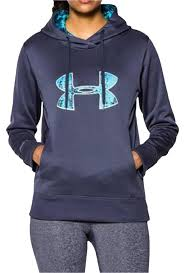 armour sweater armour blue cold weather waterproof w big logo sz