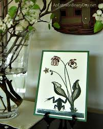 decorating with flowering pear branches plus easy