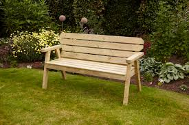 5ft Garden Bench Anchor Fast Exmouth 5ft Bench 3 Seater Simply Wood