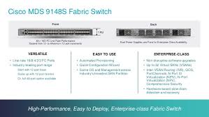 mds class design and deploy san based on cisco mds 9148s