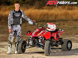 atv motocross yamaha u0027s chad wienen wins ssqsa atv motocross season finale