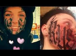 disaster face tattoo after first date youtube