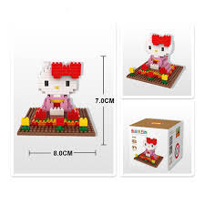 kitty loz blocks model toys brinquedos juguetes infantil