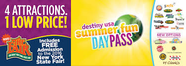 destiny usa s summer day pass returns with exciting new