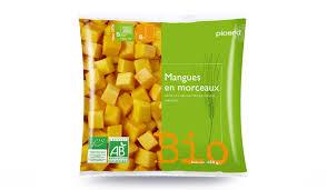 cuisiner la mangue comment cuisiner la mangue bio en morceaux picard