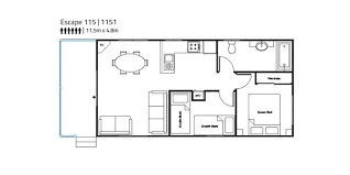 two bedroom cabin floor plans park cabins in melbourne todd homes