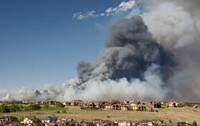 Wildfires In Colorado by Pictures Of Wildfires In Colorado Springs Business Insider