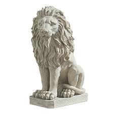 lions statues design toscano mansfield manor lion sentinel statue
