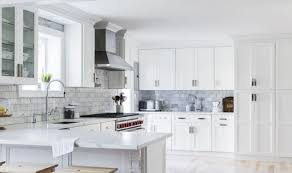 frosted white shaker kitchen cabinets 11 best kitchens with white cabinets on instagram