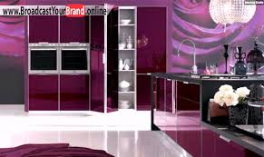 küche lila rosa beere lila küche farbe