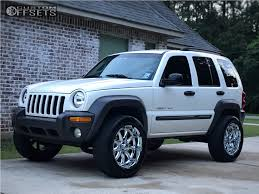 2003 blue jeep liberty 2003 jeep liberty xd badlands country suspension lift 3in