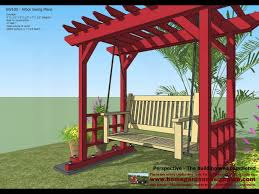 how to build an arbor trellis sw100 arbor swing plans construction garden swing plans