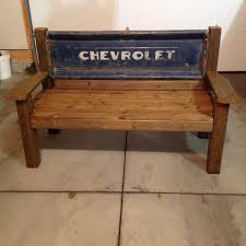find more vintage chevrolet tailgate bench for sale at up to 90