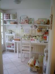 Shabby Chic Craft Room by A New Little Ironing Board Ironing Station Shabby Chic Crafts