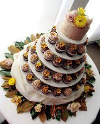 cupcake tiered wedding cake designs