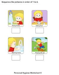 personal hygiene worksheets for kids collection 9 16 personal