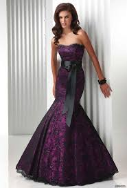 purple wedding dresses black and purple wedding dresses luxury brides