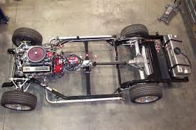 corvette chassis 1968 1982 c3 replacement chassis chassis packages