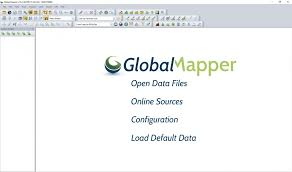 generate online guid creating contours using aster dem and global mapper macodrum library
