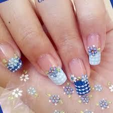 10 stick on nail art designs picsrelevant