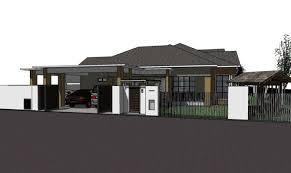 single storey bungalow floor plan 21 amazing single storey bungalow design home building plans 36080