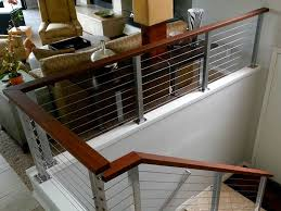 interior cable stair railing exclusive ideas cable stair railing