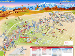 las vegas maps top tourist attractions free printable city