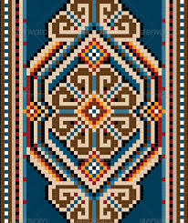 Oriental Design Ancient Oriental Design With Frame For Carpet By Tatyanamh