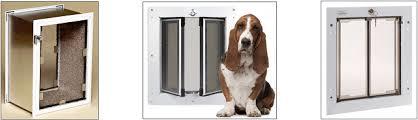 Patio Doors With Built In Pet Door Dog Doors For Walls Cat Door For Wall Wall Pet Door
