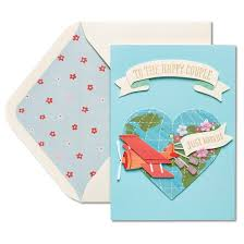 congratulations card papyrus just married wedding congratulations card target