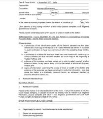 100 living revocable trust template living trust form the