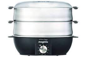 cuisiner vapeur cuiseur vapeur magimix 11576 cuit vapeur satine 11576 c vap satiné