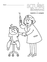 Coloring Pages Scrubs And Beyond Tools Coloring Page